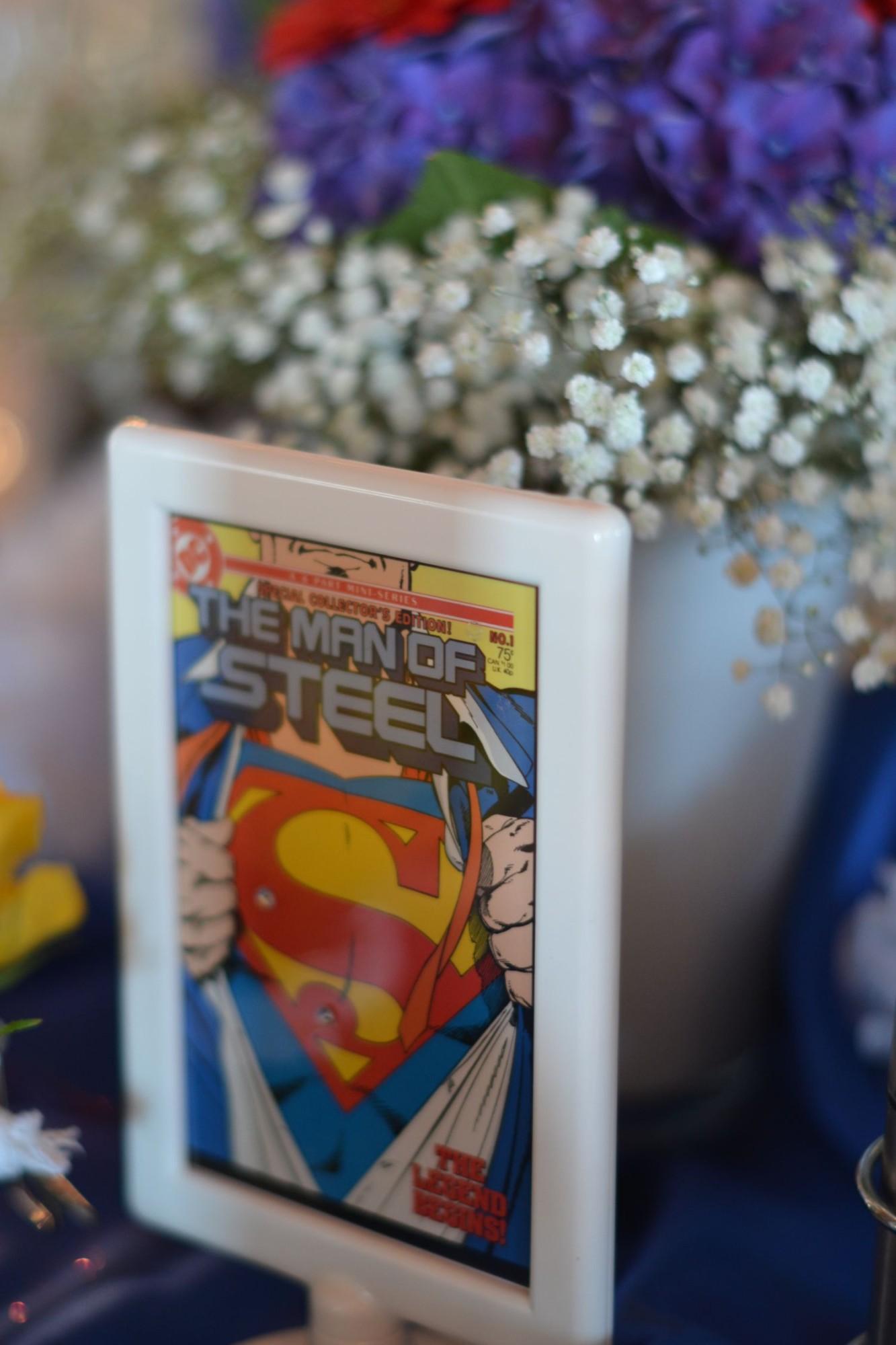 Brauttisch - Superman